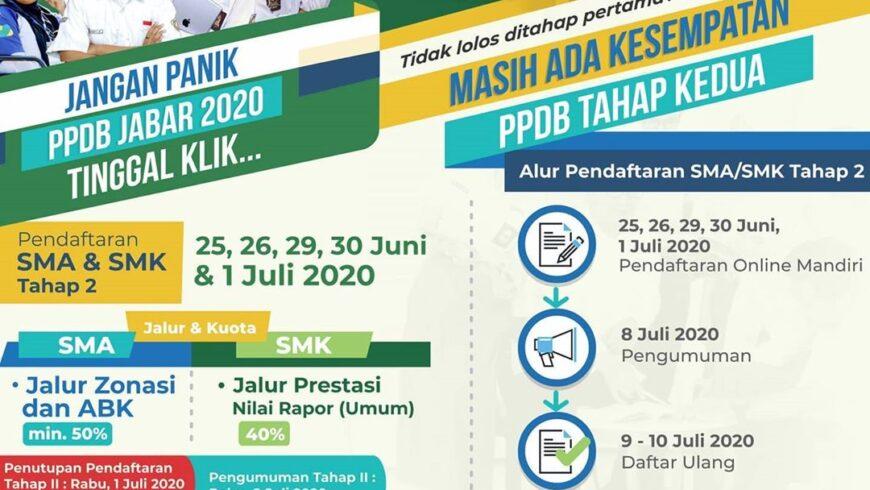 PPDB TAHAP 2 2020