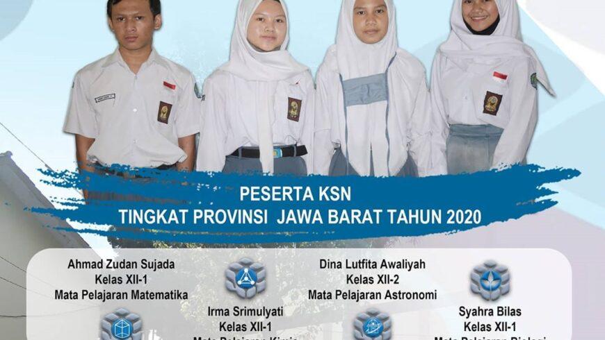 Kompetisi Sains Nasional (KSN) Tingkat Provinsi Jawa Barat Tahun 2020